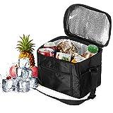 Orlegol Sac Isotherme Lunch Bag, 10L Sac de Pique-Niques Sac-Glacière Cooler Bag Grande Capacité...