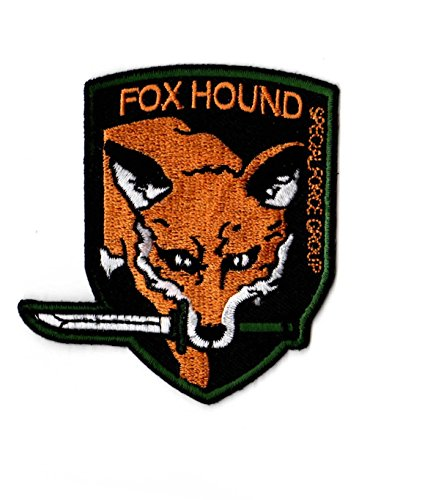 Metal Gear FOXHOUND Iron on Patch from ZanzibarLand