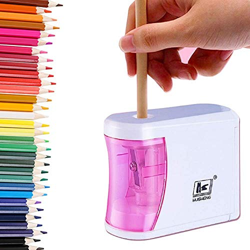Pencil Sharpener,Classroom Electric Pencil Sharpener,to Prevent Accidental Opening,Can Automatically Stop The Children's Electric Pencil Sharpener,Suitable for Students,Artists,Classrooms,Ofices