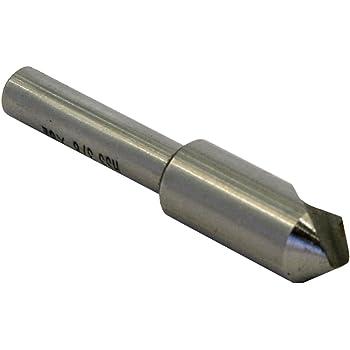 "5//8/"" 60° 6 Flute Carbide Head Single End Countersink 1//4/"" Shank 2-3//4/""OAL USA"