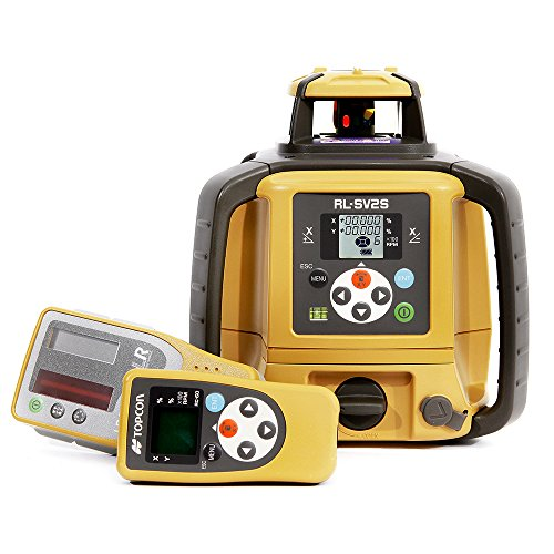NEW! TOPCON RL-SV2S DUAL SLOPE SELF-LEVELING ROTARY LASER LEVEL...