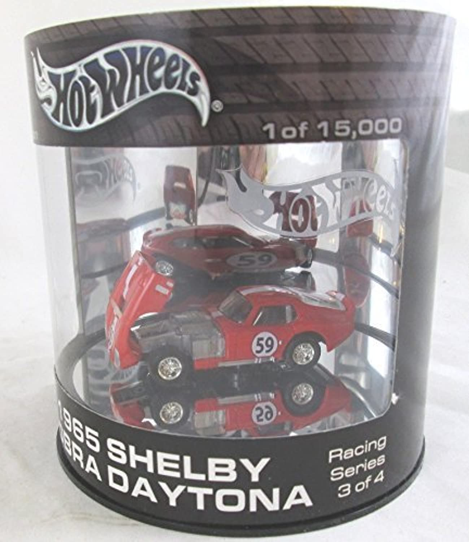 Hot Wheels 100% 1965 Shelby Cobra Daytona RED Oil Can