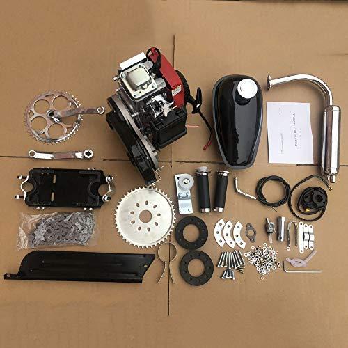 Bicycle Engine Kit,53cc 4 Stroke Pedal Cycle Petrol Gas Motor Kit,bike conversion kit with Tools for Mountain Bike Racing Bikes Cruiser Chopper Engine Set Tool