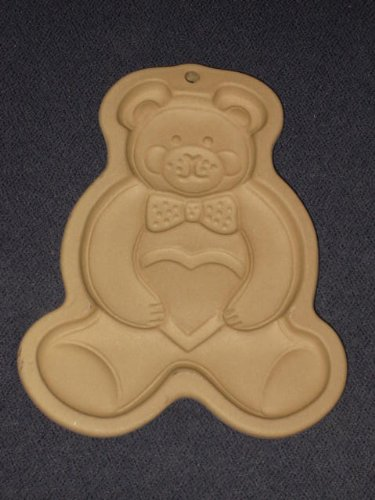 The Pampered Chef - 1991 Teddy Bear Cookie Mold - Family Heritage Collection