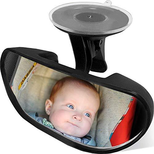 Rücksitzspiegel, Baby Kinder Rückspiegel, Rücksitzspiegel Baby, Rücksitzspiegel für Babys Kindersitz , Einstellbare Auto Baby Ansicht hinten Sitz Baby Sicherheit Spiege