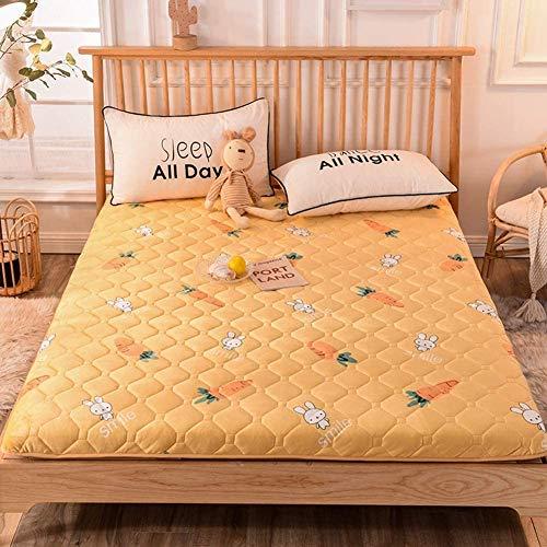 zyl Colchón de Suelo de Tatami Plegable Grueso Acolchado Suave antiescaras futón colchón para Dormir para Dormitorio A 200 x 220 cm