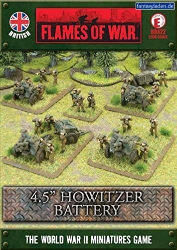 British  OQF 4.5 by Battlefront Miniatures
