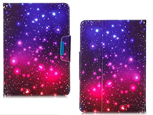 Azpen A1040 10.1' Tablet Universal Case,PU Leather Folio Stand Case Flip Wallet Protective Cover with Card Slots for Azpen A1040 10.1 Inch Tablet (Starry Sky)