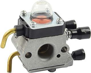 Cabilock Piezas de Repuesto de carburador de 1 Pieza Trimmer Cortadora de césped Motosierra Accesorios de carburador para Stihl FS45 FS75 FS45 FS55