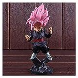 LIQIN Anime Acción Figura Dragon Ball Z Goku Modelo Muñeco de Juguete Adornos Se Pueden recolectar R...