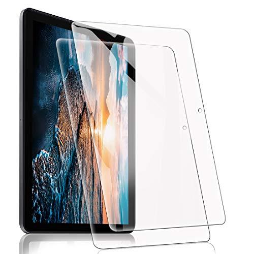 [2 Pezzi] Vetro Temperato per Huawei MatePad T10s/T10 2020, Pellicola Protettiva Durezza 9H, Anti-Graffi Anti-Impronte Digitali Alta Trasparente Nessuna Bolla Vetrino Protezione