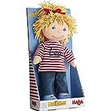 HABA 302642 - Puppe Conni mit Namen beschriftet