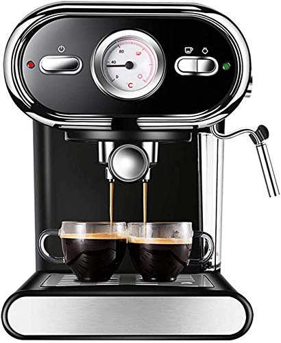 Domestic koffiemachines, Koffiezetapparaat Koffiemachines Home Office Semi-automatische koffiemachine met Steam melkopschuimer 20 bar High Pressure Extraction Visual Temperature Control WKY