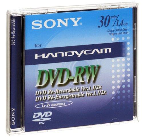Sony - DVD-RW (rewritable) für DVD-Camcorder, 30 Minuten