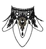 GRACEART Mujeres Gótico Cordón Collar Gargantilla