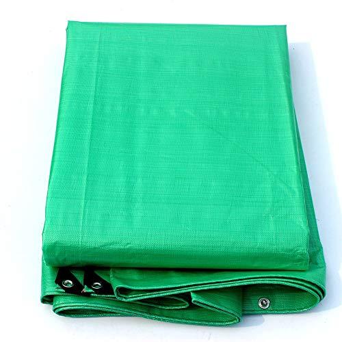 WYJW Waterdichte polyethyleen zeildoek, stevig, groen, 180g/o zonwerende folie (afmetingen: 2x3M) 2x3M