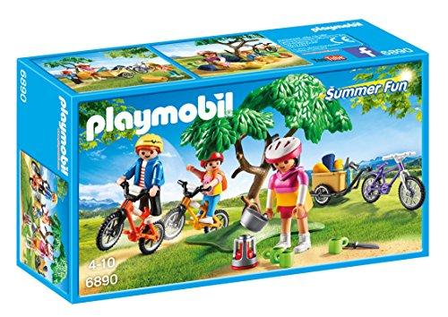 Playmobil Campamento de Verano- Biking Trip Playset, Multicolor, Miscelanea (6890)