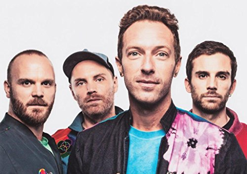 Generic Coldplay A Head Full Dreams 2016/2017 World Tour Foto Poster Bluse 068 (A5-a4-a3) - A3