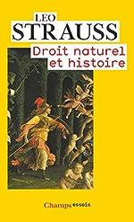 Droit naturel et histoire de Leo Strauss
