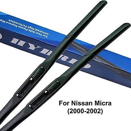Limpiaparabrisas para Nissan Micra K12 2002 a 2017 para limpiaparabrisas de coche