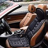 FLORATA Booster Car Seats, Car Seat Massager 8 Mode 3 Intensity Massage Seat Cushion Car Seat US Plug for Neck,Shoulders,Back Lumbar