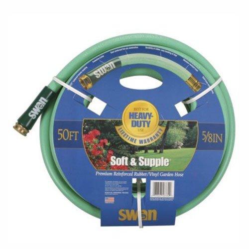 """Swan Hose SNSS58100 5/8"""" x 100' Soft & Supple Garden Hose"""