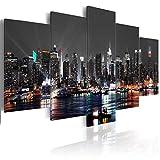 decomonkey Bilder New York 200x100 cm 5 Teilig
