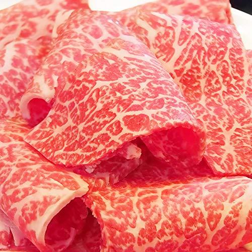 A4.A5等級 黒毛和牛ももスライス 《*冷凍便》 (3kg(500g×6))