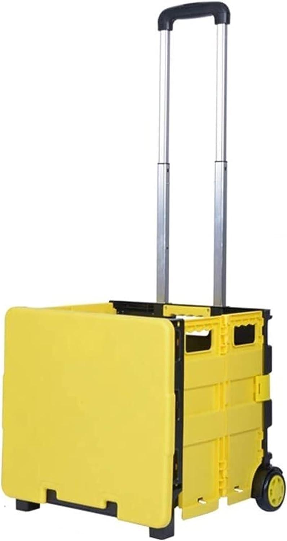 Sacramento Mall AOZLOVEC Nashville-Davidson Mall Shopping Cart Portable Utility Carts Li Trolley Folding