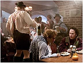 Deuce Bigalow: European Gigolo 8x10 Photo Rob Schneider Seated at Table w/Hunchbacked Woman kn