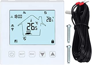 Thermostat LCD Touch Screen WiFi Underfloor Thermostat Intelligent Remote Control Temperature Controller
