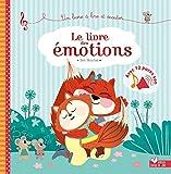 Le livre des émotions - livre sonore - Avec 12 puces sonores