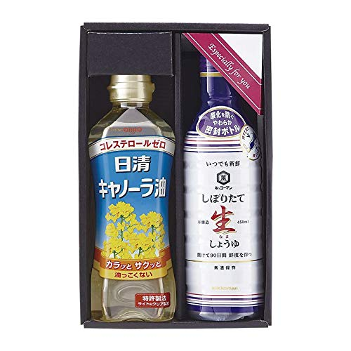 生活食房 家食応援セット KN-10 【調味料 油 詰め合わせ ギフトセット セット】