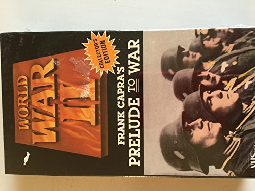 Prelude to War [VHS]
