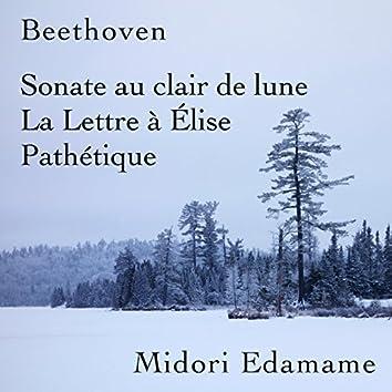 Beethoven: Sonate Au Clair De Lune / La Lettre À Élise / Pathétique