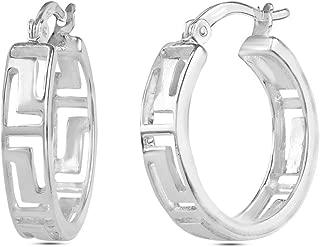 Best greek earrings silver Reviews