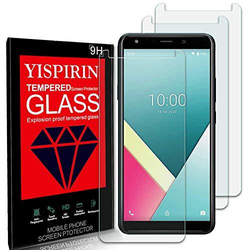 YISPIRIN [3 pezzi] Cristal Templado para Wiko Y61, Dureza 9H, Anti -...
