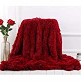<span class='highlight'><span class='highlight'>Dreamaker</span></span> Faux Fur Blanket Soft Long Shaggy Throw With Fluffy Blanket Bed/Sofa Throwover Blanket 160cm*200cm