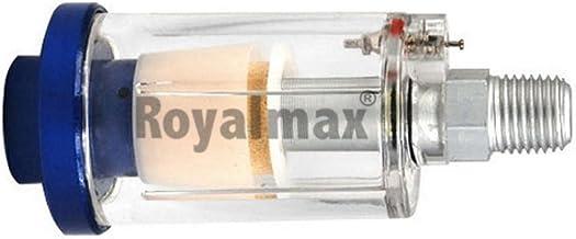 KIMISS 1//8 Filtro de Aire Separador de Agua y Humedad Regulador de Aceite y Agua Colocaci/ón de aer/ógrafo