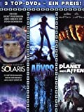 Solaris / The Abyss / Planet der Affen [3 DVDs] - George Clooney