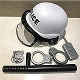 4U4 Enfants Toy Soldier Hat Jeu de rôle Casque de Soldat de Jouet pour Enfants Cap Kindergarten Parent-Enfant Taille réglable Facile à Transporter