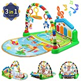 WYSWYG Baby Gym Play Mats para Floor, Kick and Play Piano Gym Centro de...