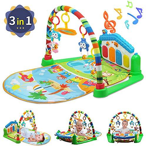 WYSWYG Baby Gym Play Mats para Floor, Kick and Play Piano Gym...