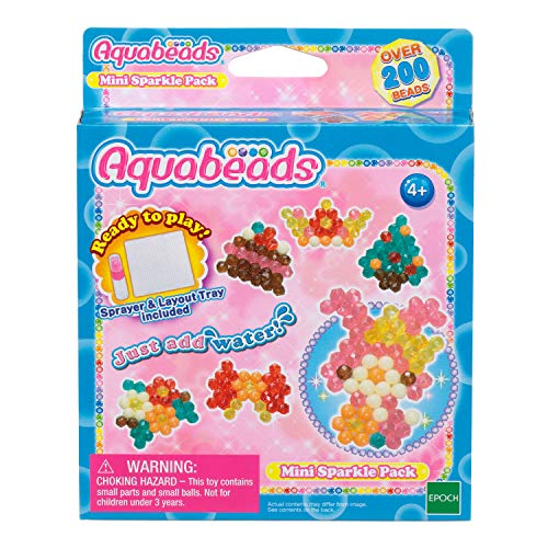 Aquabeads 32758 Mini Glitzerspielset - Bastelset