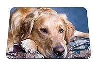 22cmx18cm マウスパッド (犬の口輪の目悲しみ) パターンカスタムの マウスパッド