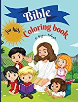 Bible Coloring Book for kids: Amazing Coloring book for Kids 50 Pages full of Biblical Stories & Scripture Verses for Children Ages 9-13, Paperback 8.5*11 inches