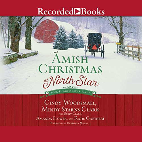 Amish Christmas at North Star audiobook cover art