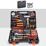 YYDE Caja de Herramientas Set Hogar 29 Piezas de reparación General de hogares Inicio y el mecánico de la Herramienta de Mano del Kit (Grande para Bricolaje Proyectos)