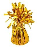 Floral Natalie - 12 x Helim Ballon Gewichte Gold Folie Quasten Kegel