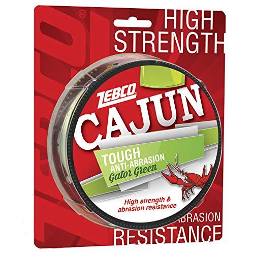 Cajun Line Zebco Cajun Tough Angelschnur 1/4- Lb/Testspule 4,5 kg/Test 10 lb, Zebco Cajun Tough Fishing Line Filler 330Yd Spool 17-Pound/Test, 17-Pound